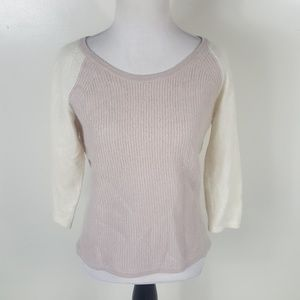 PURE Collection Pastel 100% Cashmere Sweater Top